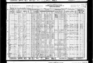 Belge 2: 1930 Nüfus Sayımı, Torosyan 40'ıncı sıradadır.