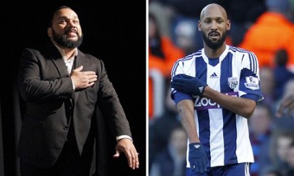 Source: http://goo.gl/HoL1FJ Nicolas Anelka was recently fined for  ₤80,000 and was suspended (5 match ban) by the British Football Association for celebrating his scoring with a quenelle sign