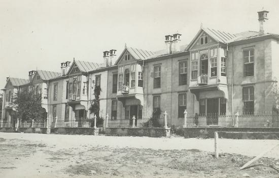 Elazığ Fabricatorian Houses in 1932  Source: Galpay @Flickr http://goo.gl/GwNaAo