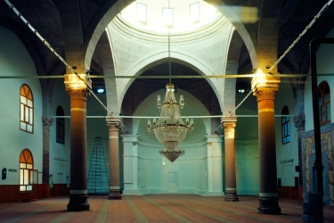 Interior of St Toros church now Fatih Mosque Source: http://goo.gl/8gQ76h